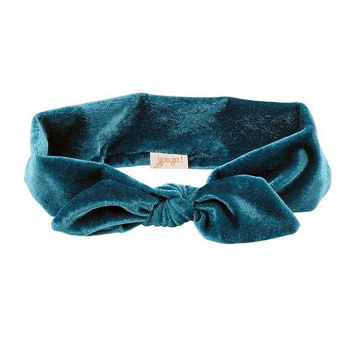 Souza- haarband 'Titia' blauw