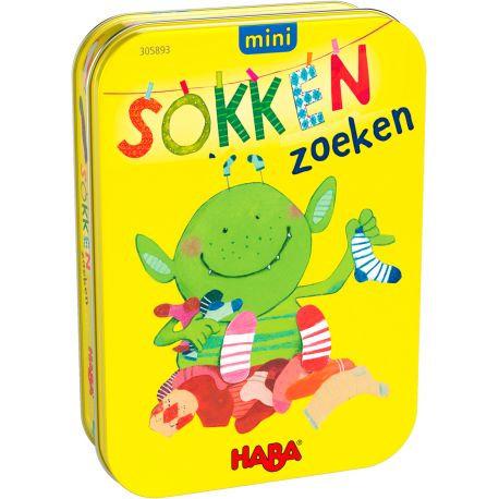 Haba- Mini spel 'sokken zoeken'