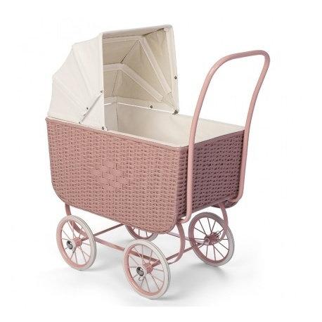 By Astrup- Retro poppenwagen roze
