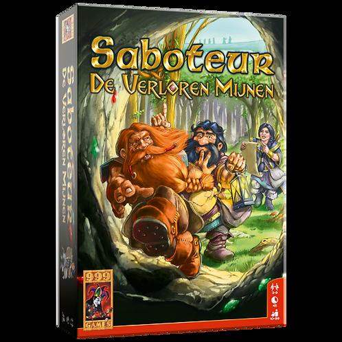 999 Games- Saboteur: De verloren mijnen- Bordspel