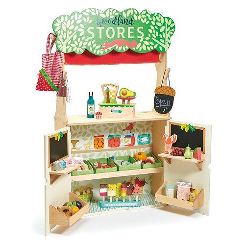 Tender leaf Toys- winkeltje en poppenkast Woodland