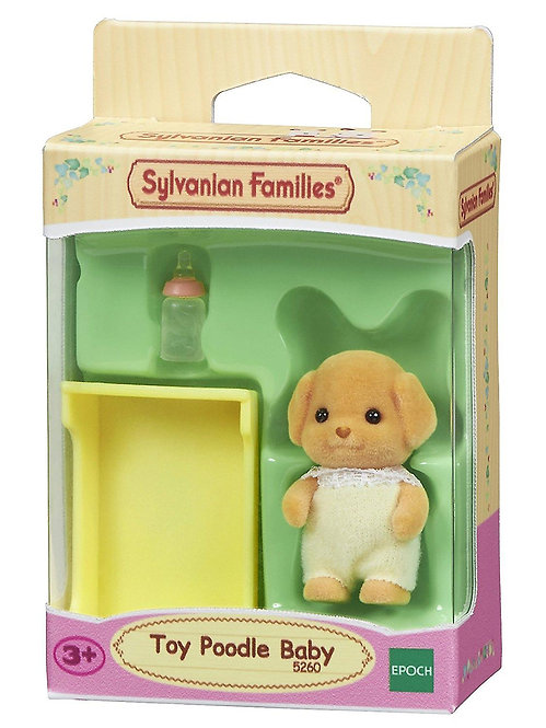 Sylvanian Families-Toy Poodle Baby