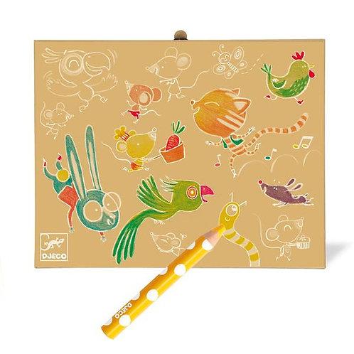 Djeco-Kleurdoos voor de kleintjes