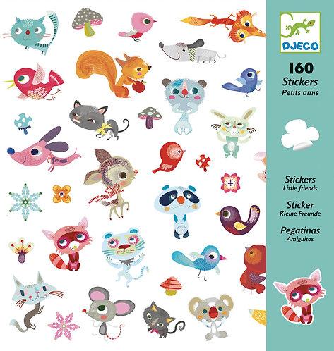 Djeco- Stickers 'vriendjes'