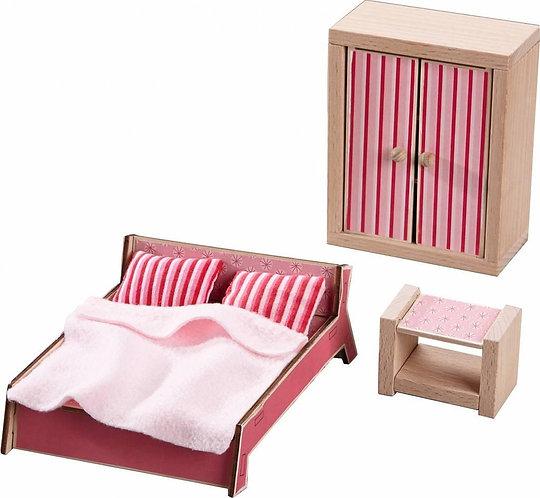 Haba- Volwassenen Slaapkamer voor Poppenhuis