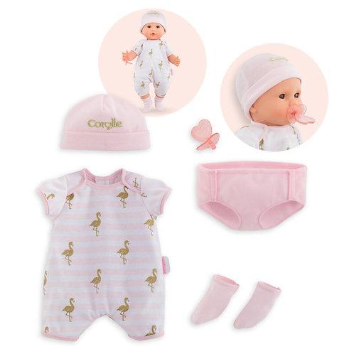 Corolle-Poppenkleding set voor babypop 36cm
