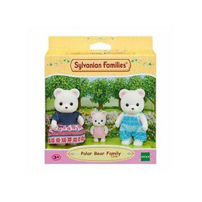 Sylvanian Families-Polar Bear Family