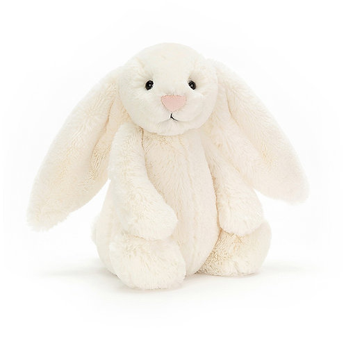 Jellycat- bashful cream bunny (medium)
