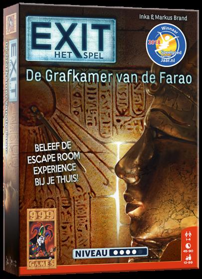 999Games- EXIT/De grafkamer van de Farao