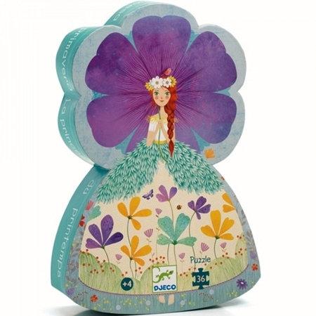 Djeco- Puzzel 36 stuks 'de prinses van de lente'