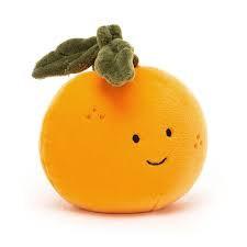 Jellycat- fabulous fruit orange