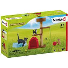 Schleich- Katten Speeltijd