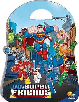 Dc Super Friends (Ml/Esp) - Kit C/08 Und.