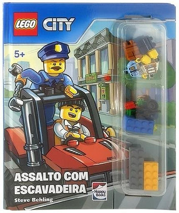 Lego® City - Assalto Com Escavadeira