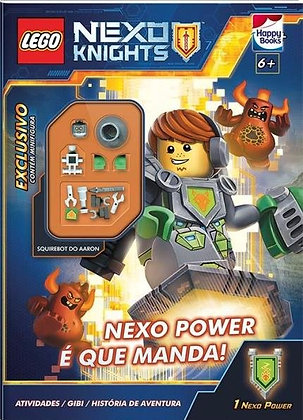 Lego Nexo Knights-Lnc 801 - Nexo Power E Que Manda!