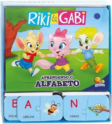 Riki & Gabi Em... Aprendendo o Alfabeto