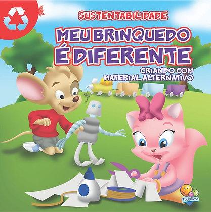 Sustentabilidade Meu Brinquedo É Diferente - Criando Com Material Alternativo