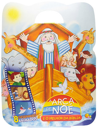 Arca De Noé e o Melhor Da Bíblia,A(Ml/Esp 14x1)-Kit C/08 Und