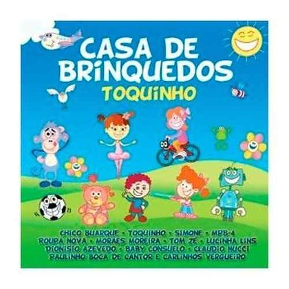 Cd Mpb Kids - Casa De Brinquedos - Toquinho