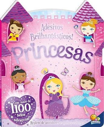 Adesivos Brilhantásticos! Princesas