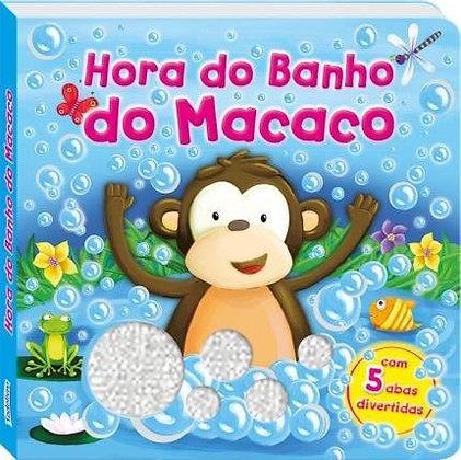 Abas e Aventuras! Hora do Banho do Macaco