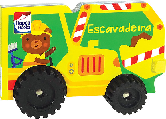 Veículos Geniais - Escavadora