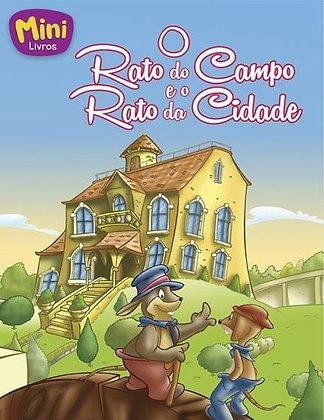 Mini - Fábulas: O Rato do Campo e o Rato Da Cidade