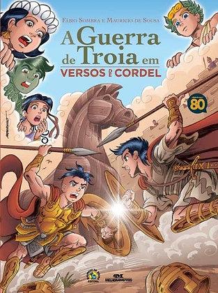 Turma Da Mônica Jovem - A Guerra De Troia Em Cordel
