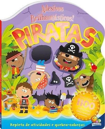 Adesivos Brilhantásticos! Piratas