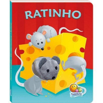 Dedinhos Agitados - Um Livro-Fantoche I: Ratinho