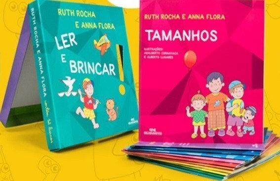 Ler e Brincar - Coleção Com 12 Livros -  Ruth Rocha