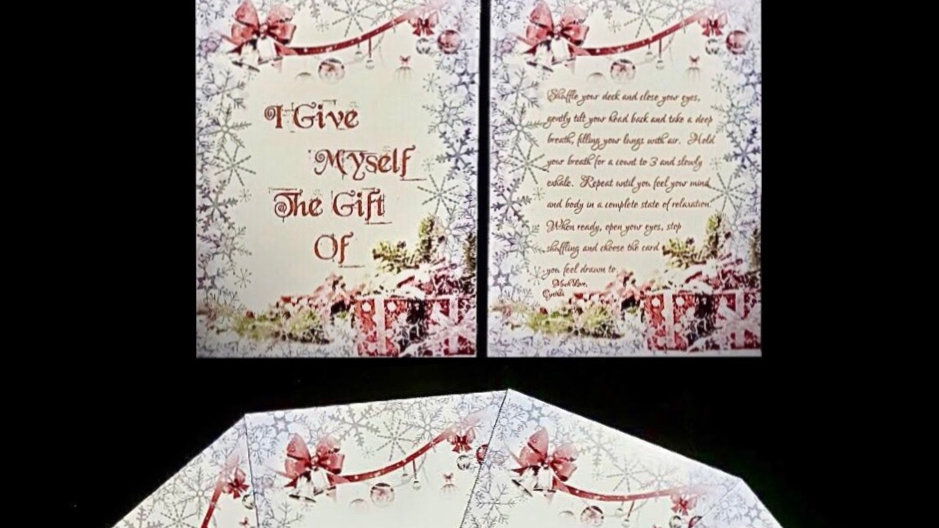 """25 Days of Christmas """"I Give Myself The Gift Of…"""" Affirmation Deck"""