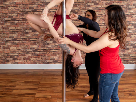 The Benefits of Small, Multi-Level Aerial Classes