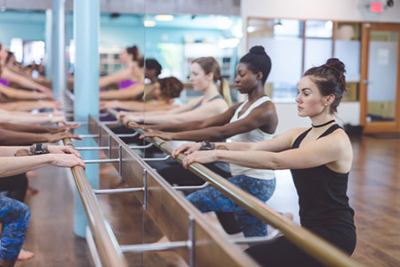 Happy Hour at the Barre!