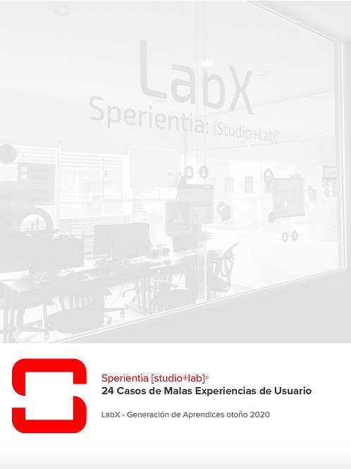 24 Casos de Malas Experiencias de Usuario (UX) - LabX Report