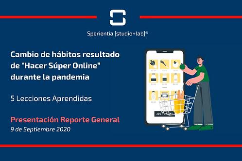 """Cambio de Hábitos resultado de """"Hacer Súper Online"""" durante la pandemia"""