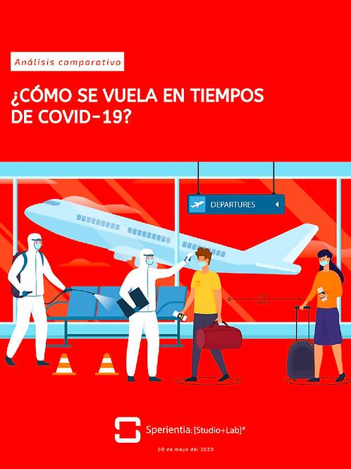 ¿Cómo se vuela en tiempos del COVID-19?: Análisis comparativo de aerolíneas