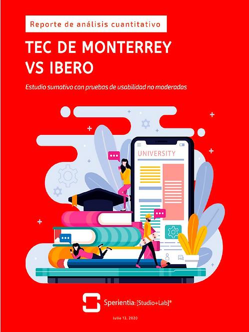 Tec vs. Ibero: Estudio Comparativo de la Usabilidad de los Sitios Web