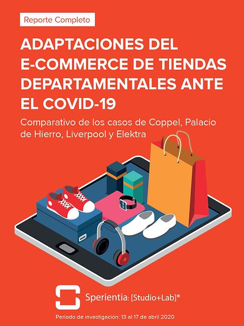 Adaptaciones del E-commerce de Tiendas Departamentales ante el COVID-19