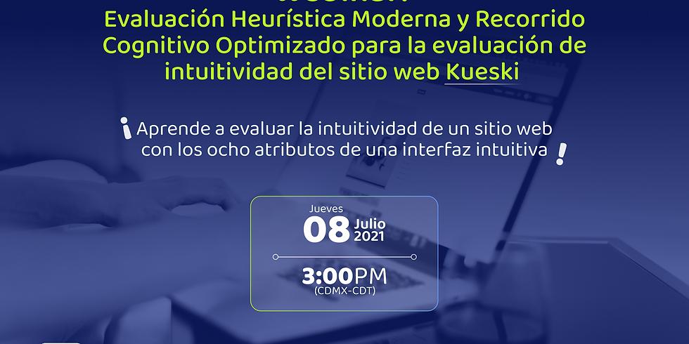 Evaluación heurística moderna y Recorrido Cognitivo Optimizado para la evaluación de la intuitividad del sitio web Kuesk