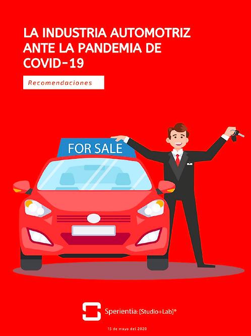 Recomendaciones para el sector automotriz ante el COVID-19