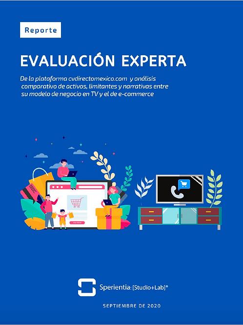 Evaluación Experta CV Directo E-commerce bySperientia [studio+lab]®