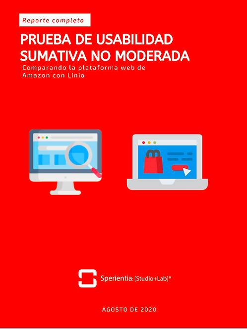 Amazon vs. Linio: Estudio Comparativo de Usabilidad (Sumativo/NoModerado)