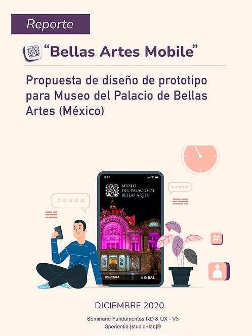 Propuesta de diseño de prototipo para Museo del Palacio de Bellas Artes (México)