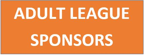 ADULT LEAGUE SPONSOR