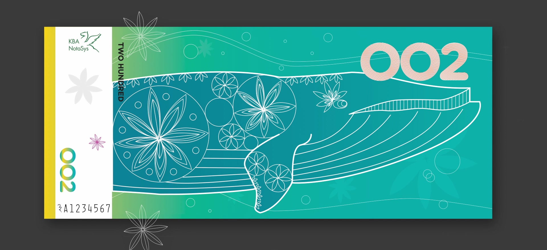 Front Banknotes Family Design