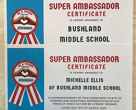 Michelle Ellis / Bushland Middle School
