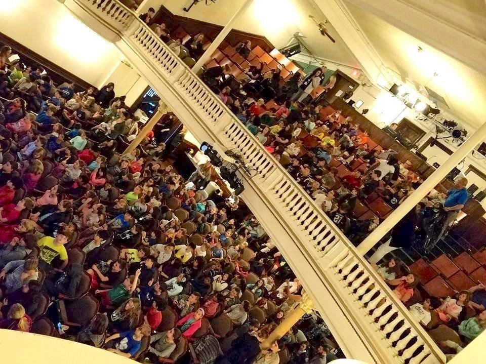 Main Street School (4th & 5th Grades) in Irvington, NY: School Day Show Audience!