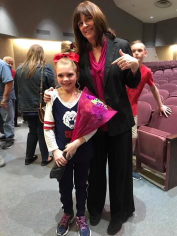 Jennifer with dynamo performer, TX