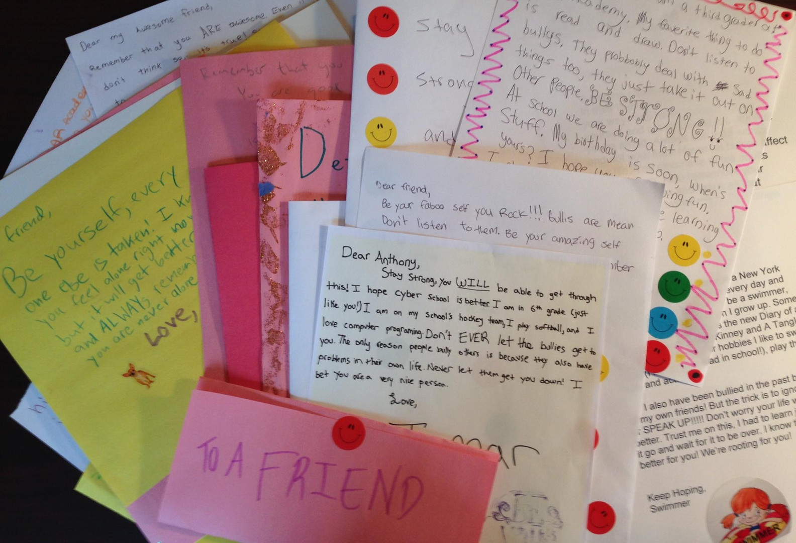 1st Delivery of the Be A Friend Project!